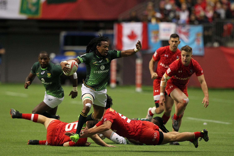 HSBC Canada Sevens - South Africa v Canada
