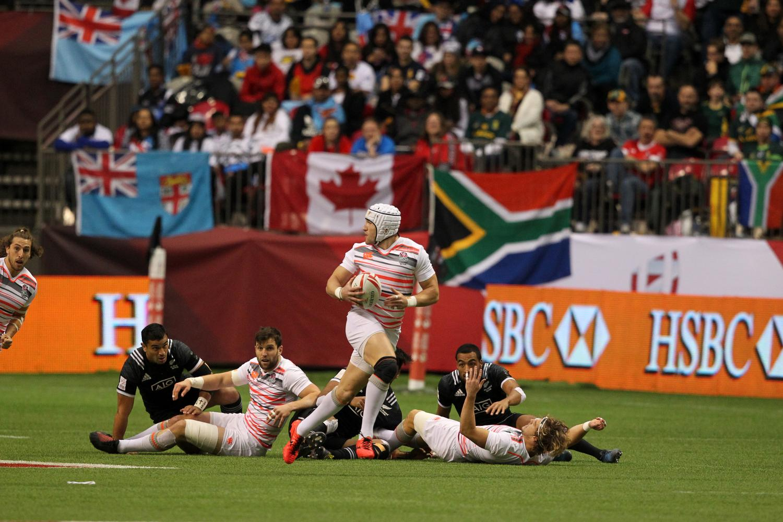 HSBC Canada Sevens - New Zealand v England