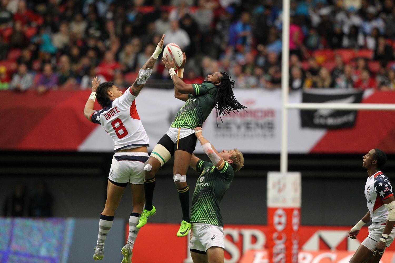 HSBC Canada Sevens - South Africa v USA