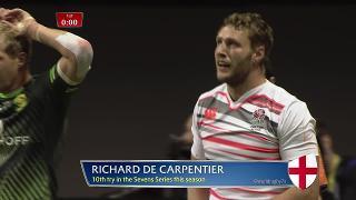 Try, Richard De Carpentier, South Africa v ENGLAND