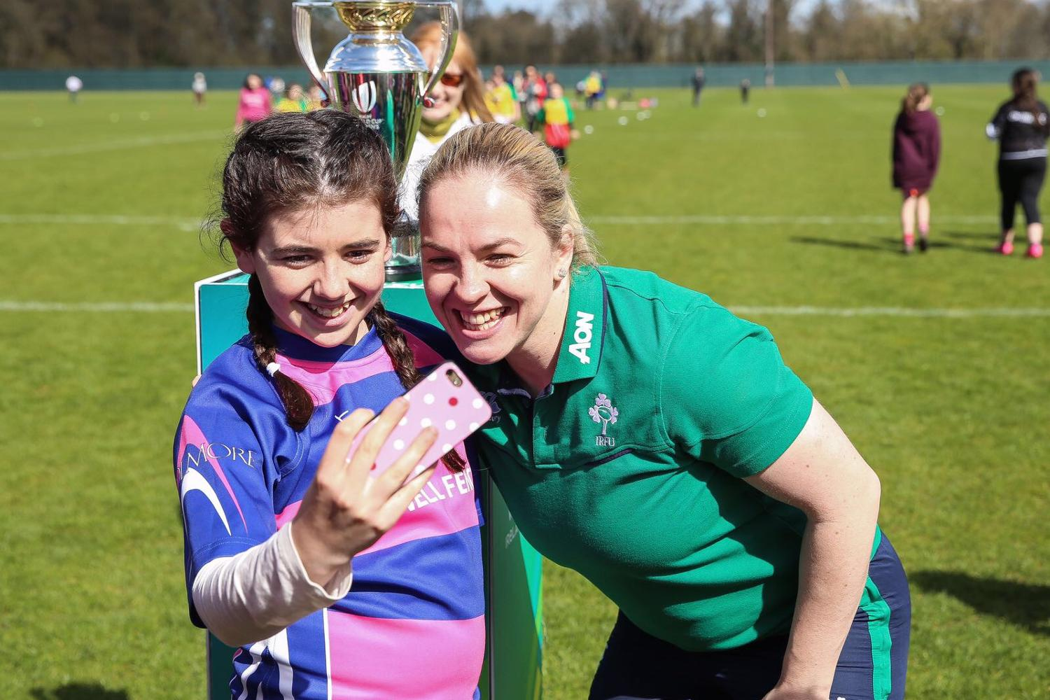 Women's Rugby World Cup 2017 Trophy Tour