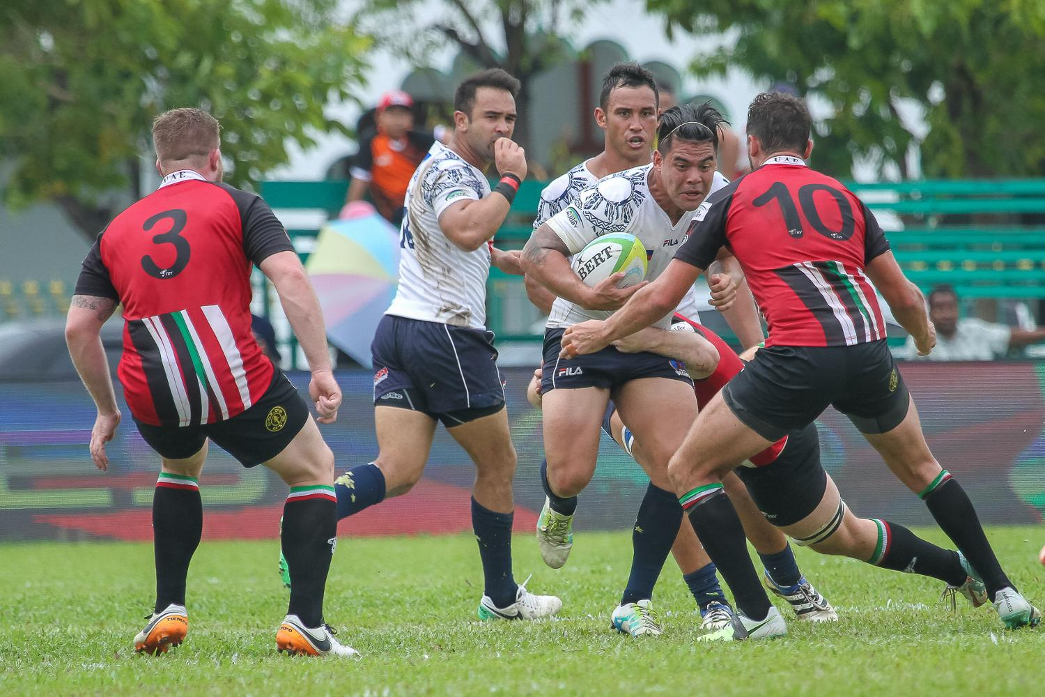 Asia Rugby Championship Division I 2017 - Philippines v UAE