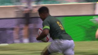 Try, Dewald Human, SOUTH AFRICA v Argentina