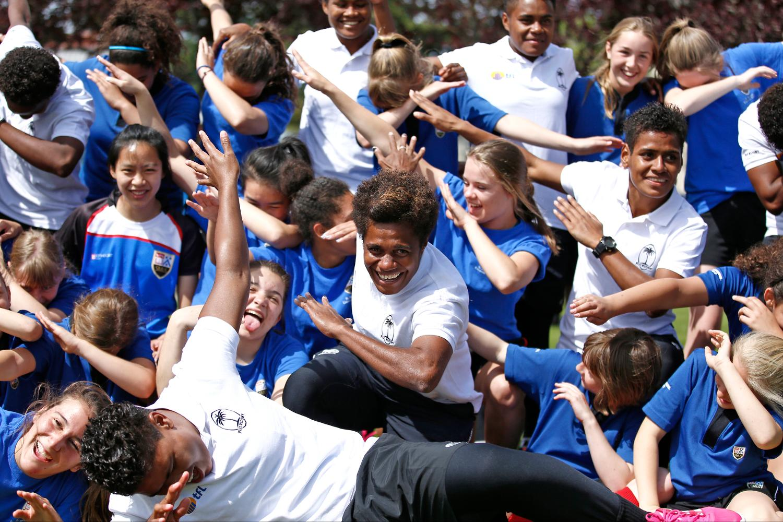 Fiji school visit