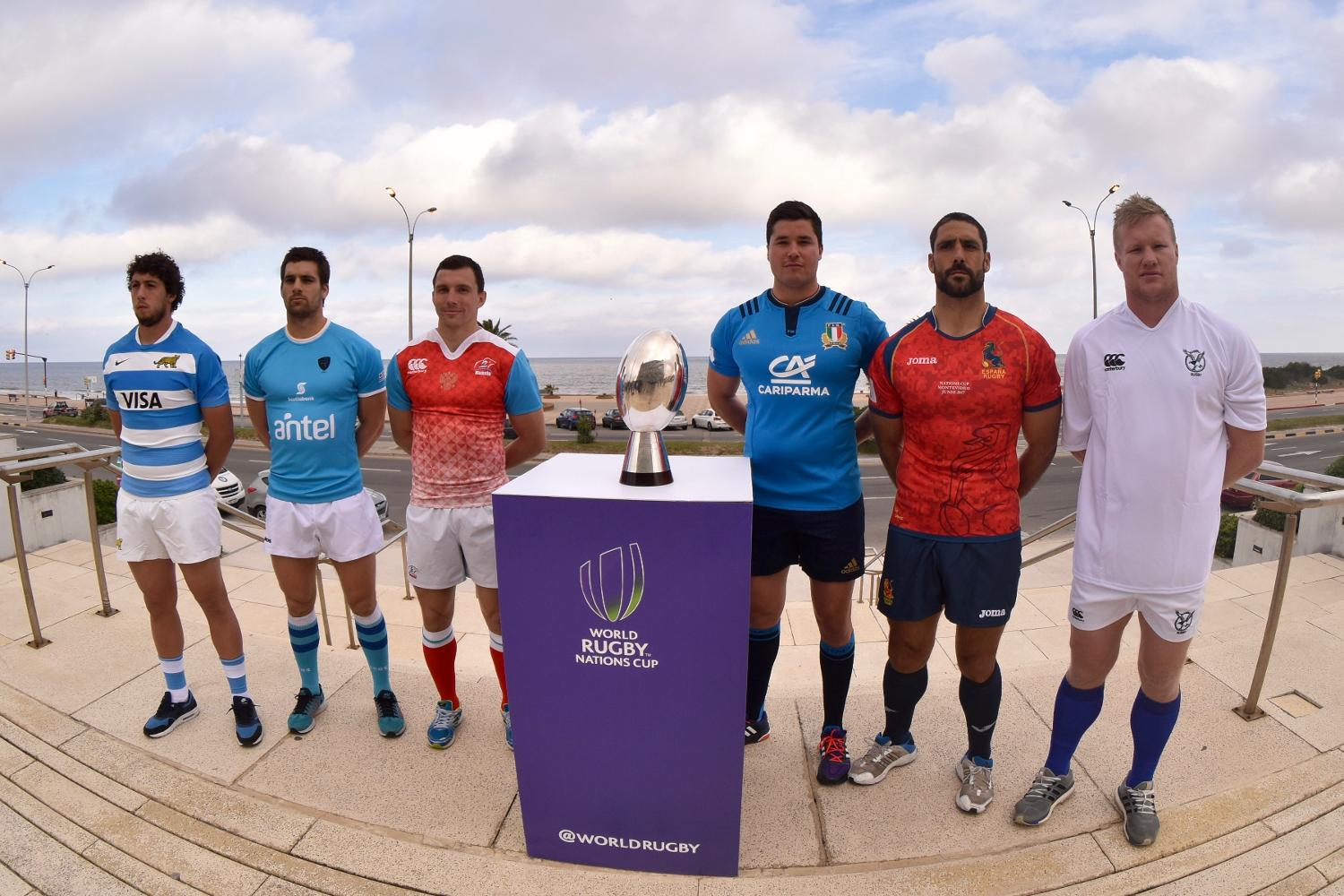World Rugby Nations Cup 2017: Captains' Photocall