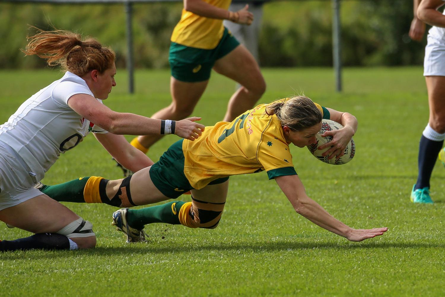 International Women's Rugby Series 2017: Australia v England