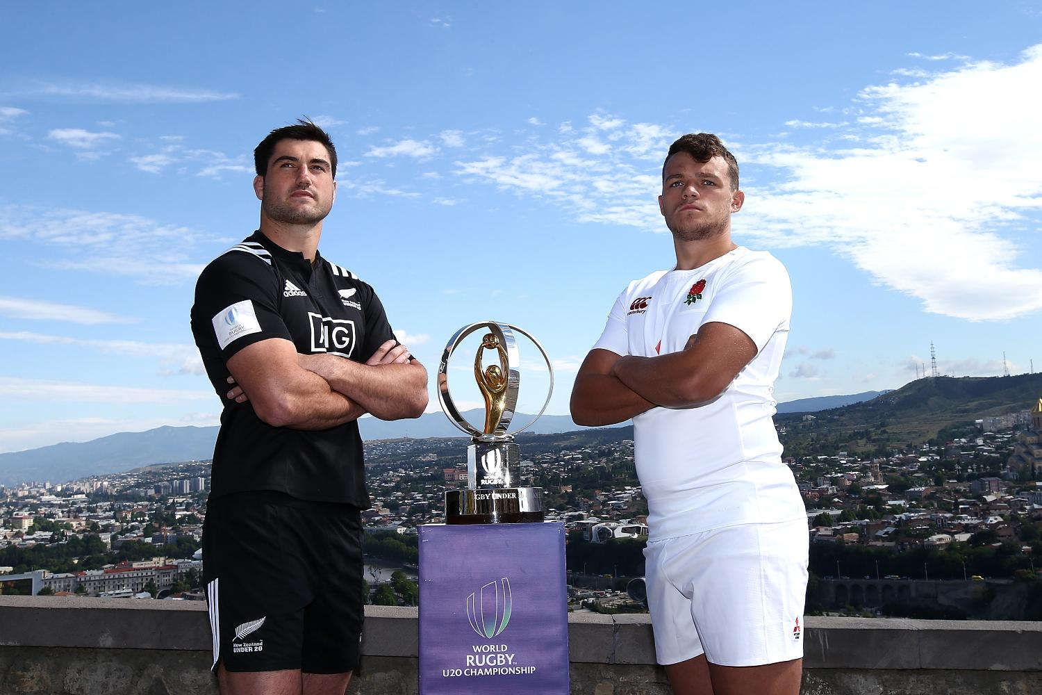 World Rugby U20 Championship 2017: Final captains' photocall