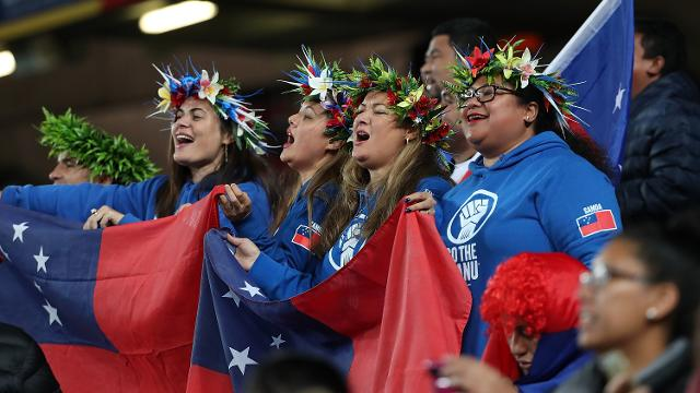 New Zealand v Samoa