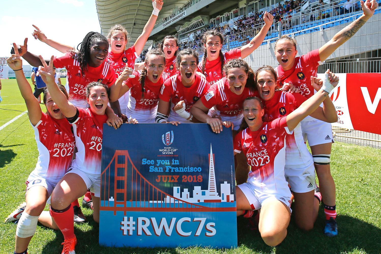 France qualify for RWC Sevens