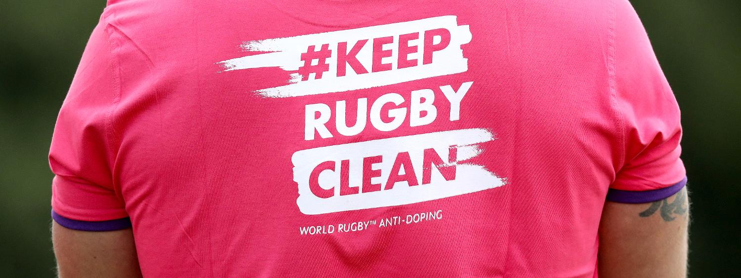 39203334c World Rugby announces 2018 anti-doping programme outcomes
