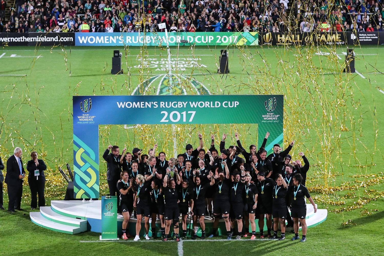 WRWC17 La Nouvelle-Zélande fête son titre de championne du monde de rugby féminin 26/8/2017