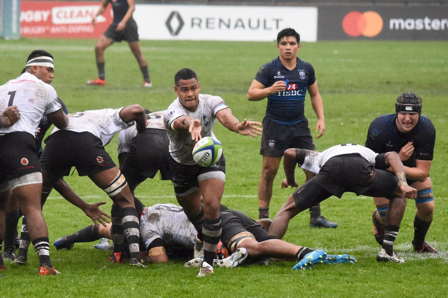 World Rugby U20 Trophy 2017: Fiji v Hong Kong