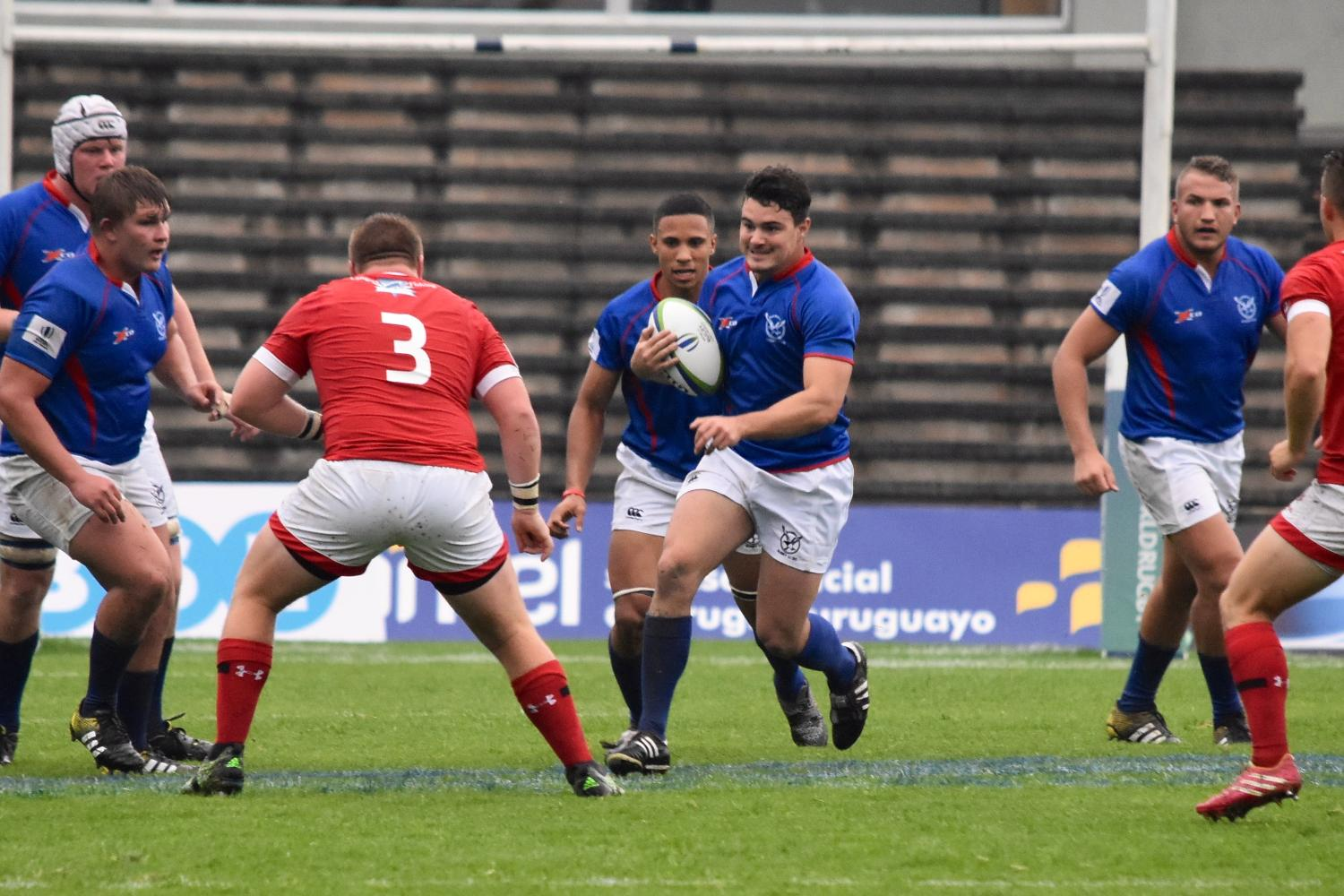 World Rugby U20 Trophy 2017: Namibia v Canada