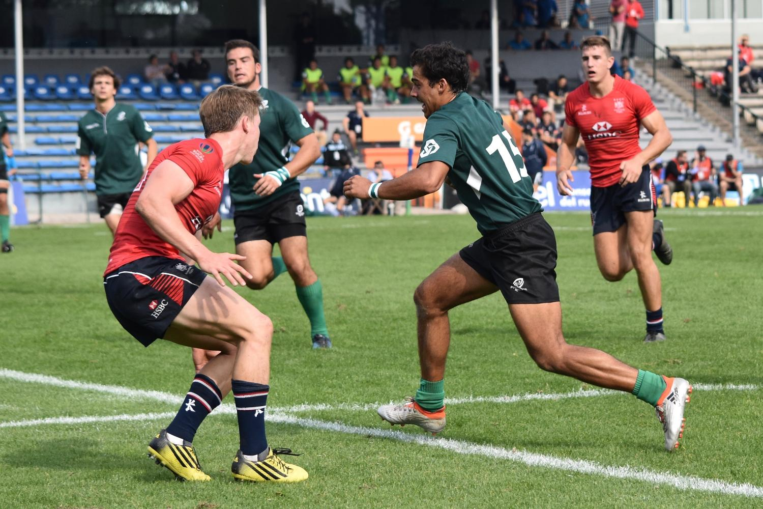 World Rugby U20 Trophy 2017: Portugal v Hong Kong
