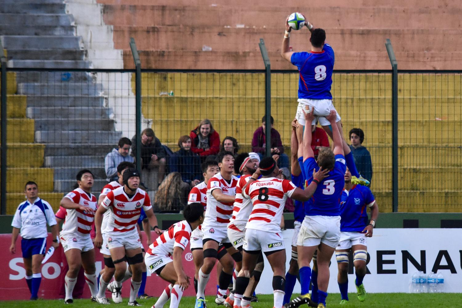World Rugby U20 Trophy 2017: Japan v Namibia