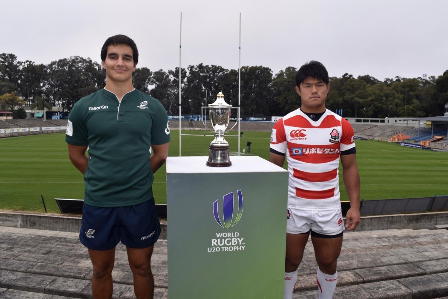 World Rugby U20 Trophy 2017 final - captain's photocall