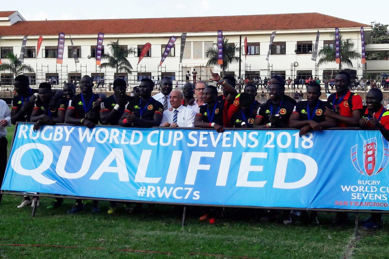 Uganda qualify for RWC Sevens 2018