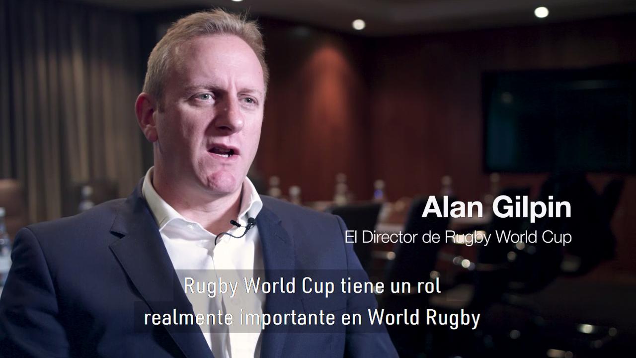 El Director de Rugby World Cup Alan Gilpin explica el proceso de candidaturas