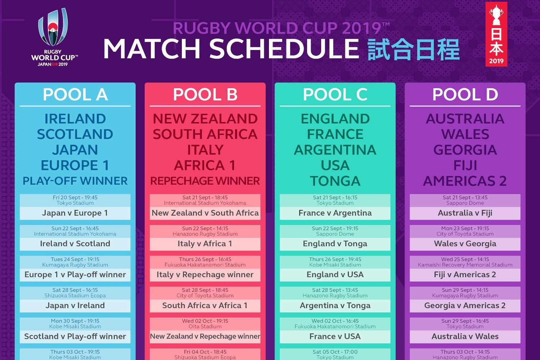 RWC2019_Match Schedule Pool
