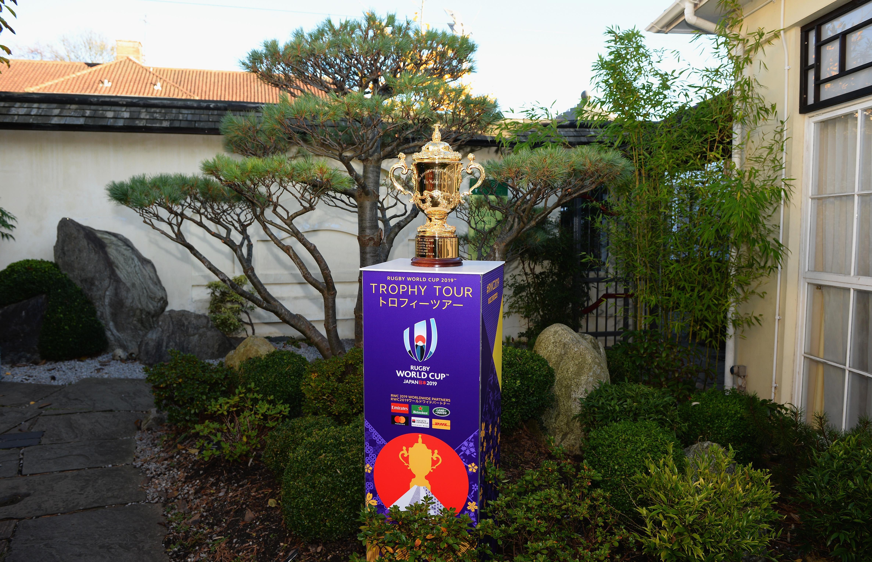 L'Uruguay accueille la coupe Webb-Ellis au moment où World Rugby dévoile les étapes de la tournée du trophée de la RWC 2019