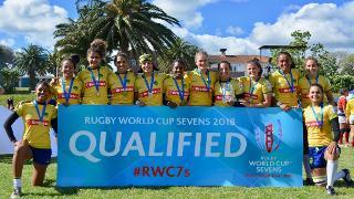 Brazil's women win the women's Sudamérica Rugby Sevens 2017