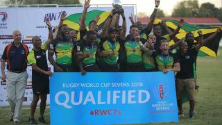RAN Sevens 2017: Jamaica men's trophy lift