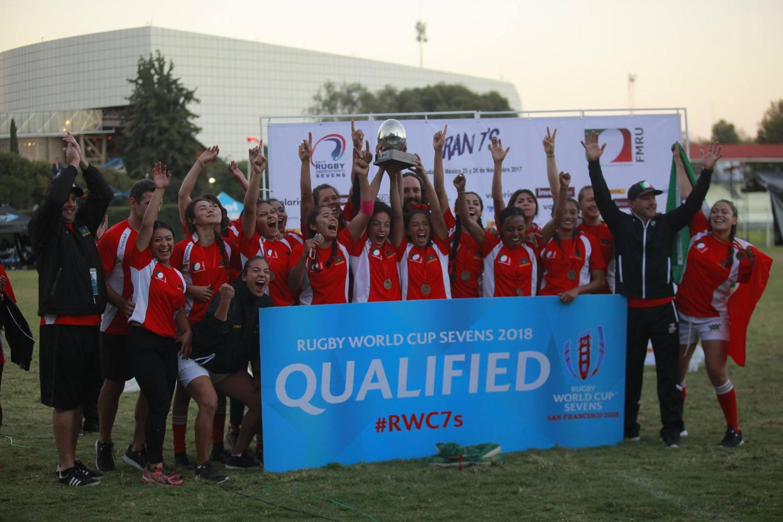 RAN Sevens 2017: Mexico women trophy lift