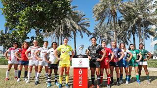Emirates Airline Dubai Rugby Sevens Captain's Photo-  Women's