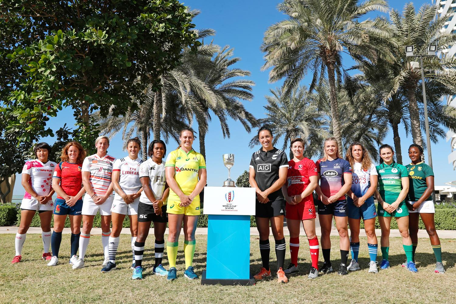 Rugby World Cup Sevens 2018 - Women's qualified teams in Dubai