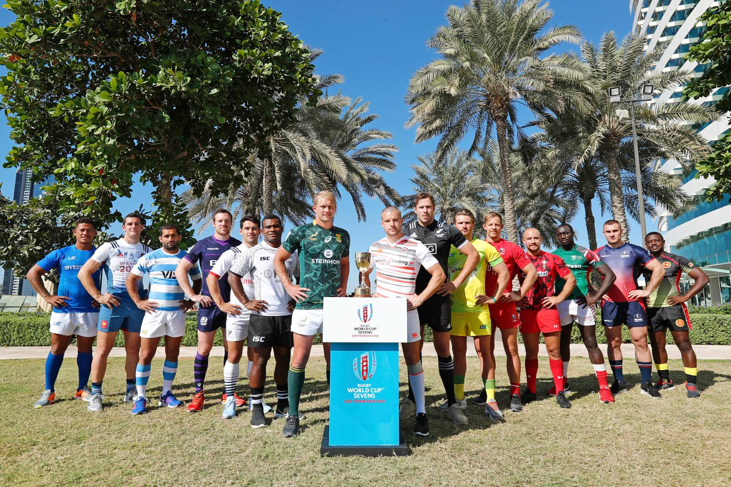 Rugby World Cup Sevens 2018 - Men's qualified teams in Dubai