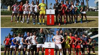 Emirates Airline Dubai Rugby Sevens Captain's Photo- Men's and Women's