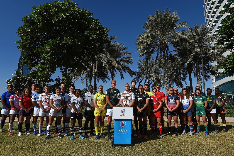 Emirates Dubai Rugby Sevens: Captain's Shoot
