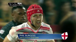 Try, PHIL BURGESS, Fiji v ENGLAND