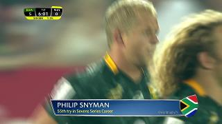 Try, PHILIP SNYMAN, SOUTH AFRICA v New Zealand