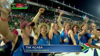 Try, TIM AGABA, SOUTH AFRICA v New Zealand