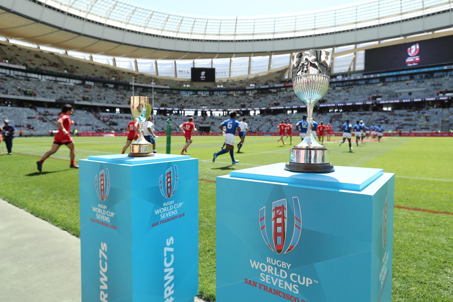Rugby World Cup Sevens 2018 Trophies