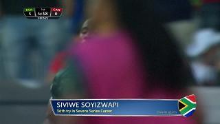 Try, SIVIWE SOYIZWAPI, SOUTH AFRICA v Canada