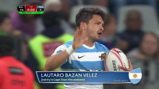Try, LAUTARO BAZAN VELEZ, New Zealand v ARGENTINA