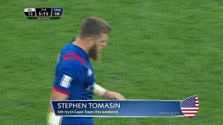 Try, STEPHEN TOMASIN, Fiji v UNITED STATES