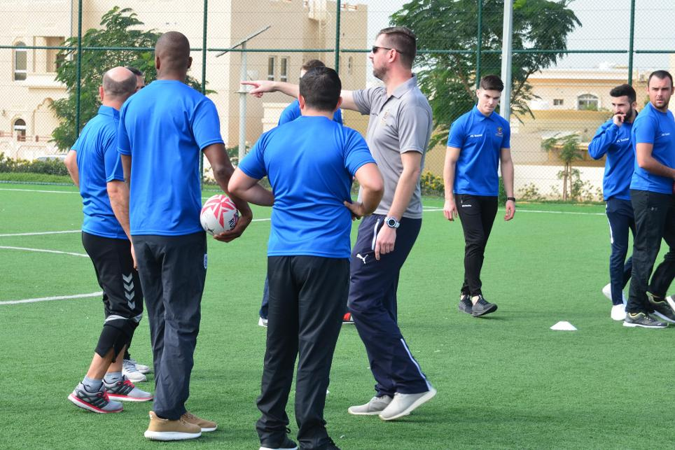 Landmark agreement for Get Into Rugby programme in UAE