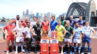Sydney sevens men's captains photo