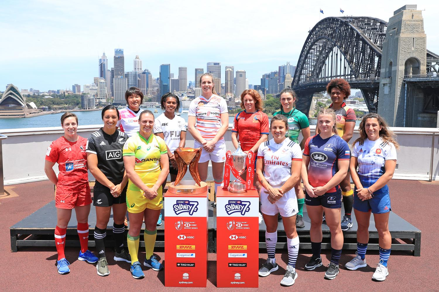 Sydney sevens captains photo