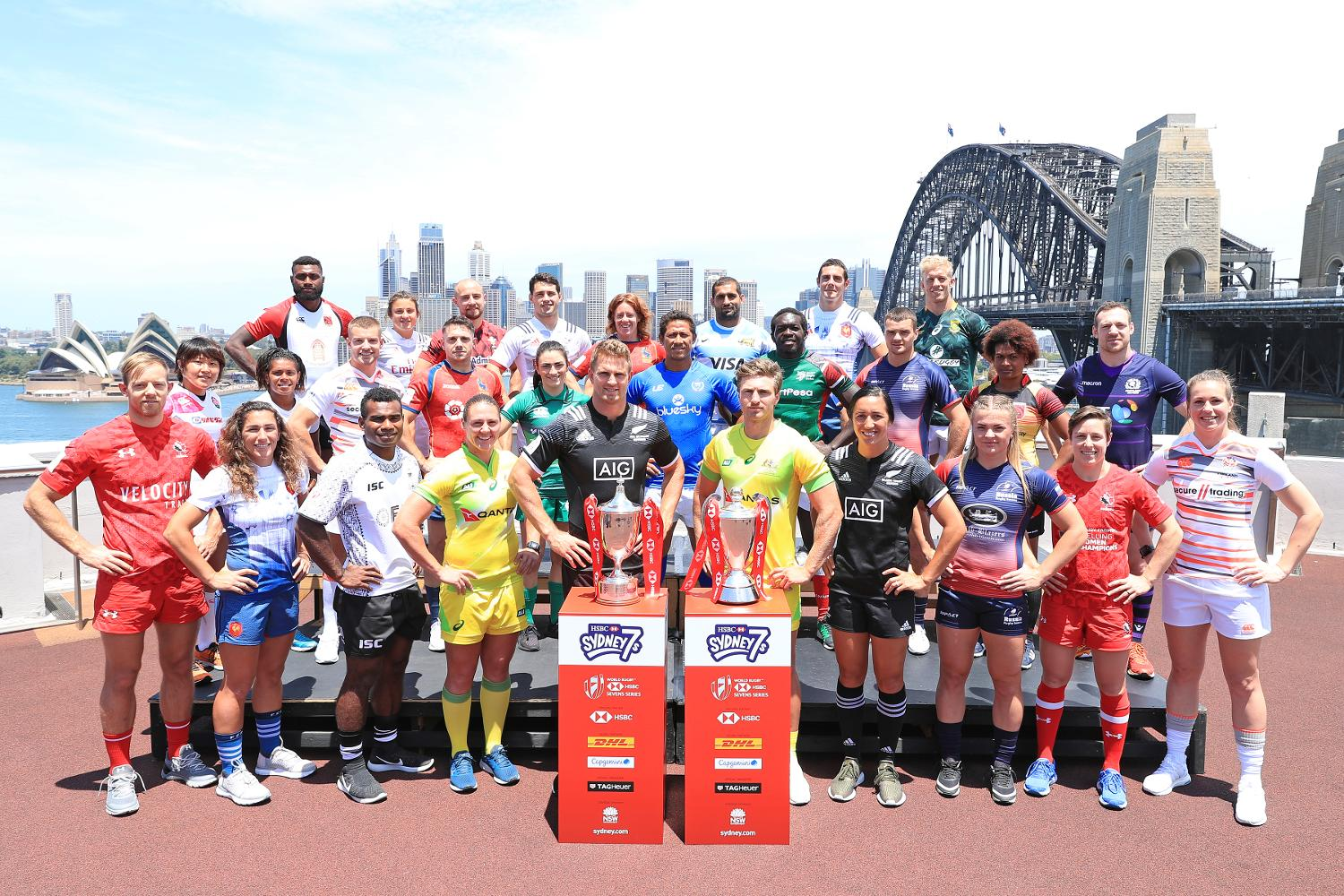 Sydney sevens captain's photo shoot