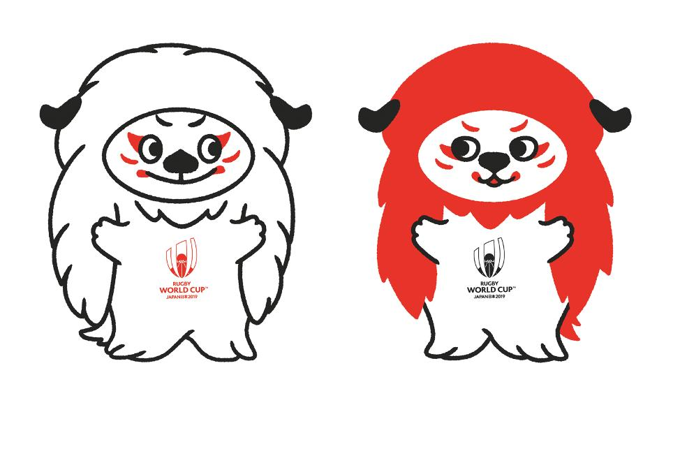 mascottes officielles RWC 2019 Japon Ren-G