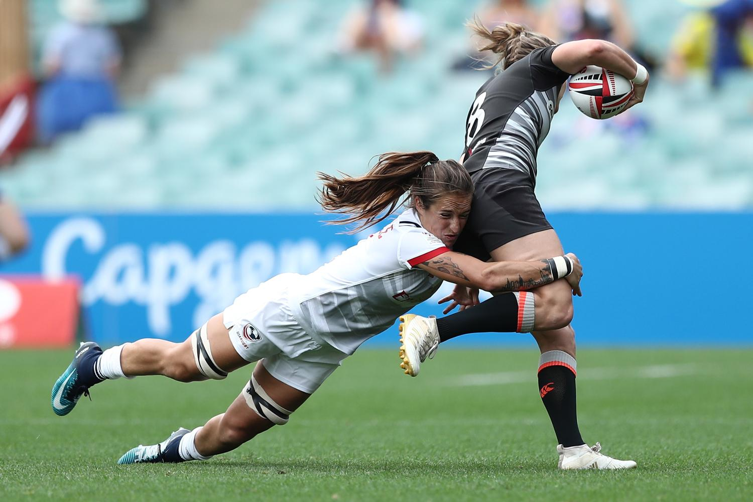 HSBC World Rugby Women's Sevens Series 2018 - Sydney Day 1