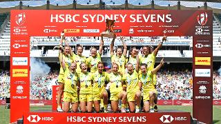 HSBC World Rugby Women's Sevens Series 2018 - Sydney Day 3