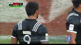 Try, Regan Ware, Fiji vs NEW ZEALAND