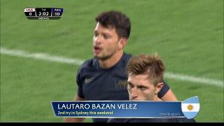 Try, Lautaro Bazan Velez, Usa vs ARGENTINA