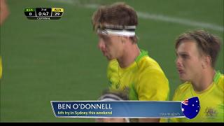 Try, Ben O'Donnell, South Africa vs AUSTRALIA