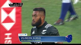Try, Vilimoni Koroi, Fiji vs NEW ZEALAND